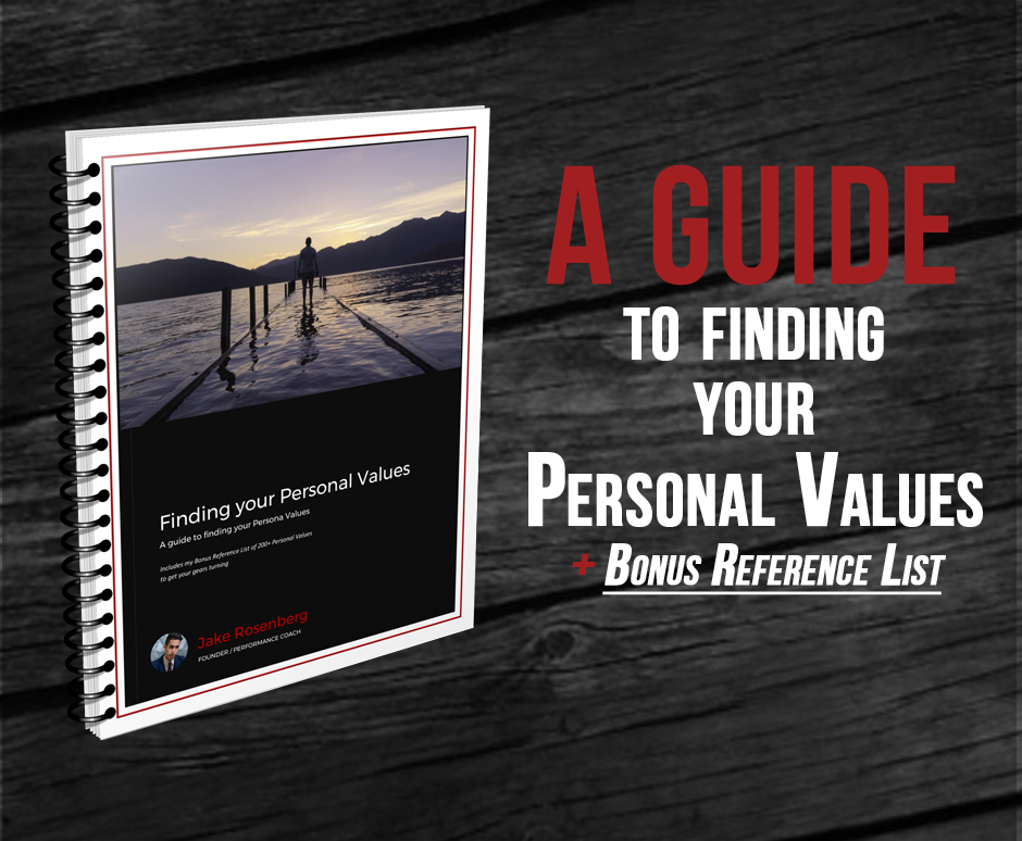 Finding Your Personal Values